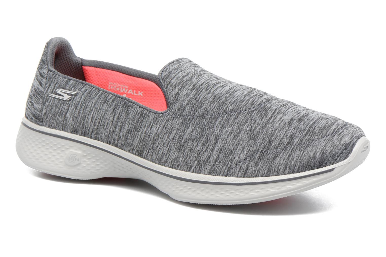 Scarpe sportive Skechers GO Walk 4 Achiever Grigio vedi dettaglio/paio