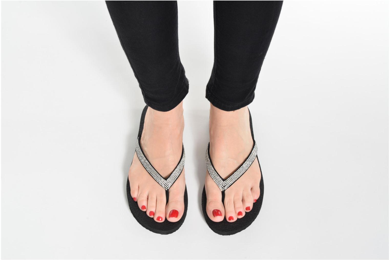 Flip flops Skechers Meditation Chill Vibes Svart bild från under