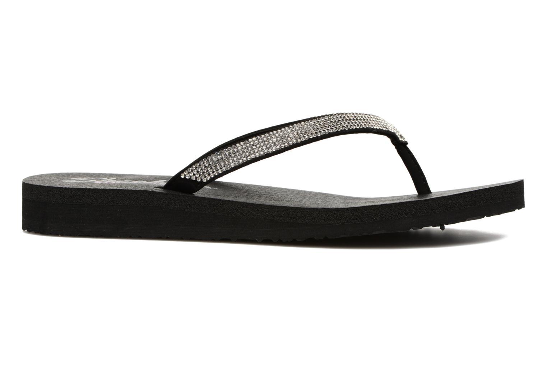 Flip flops Skechers Meditation Chill Vibes Svart bild från baksidan