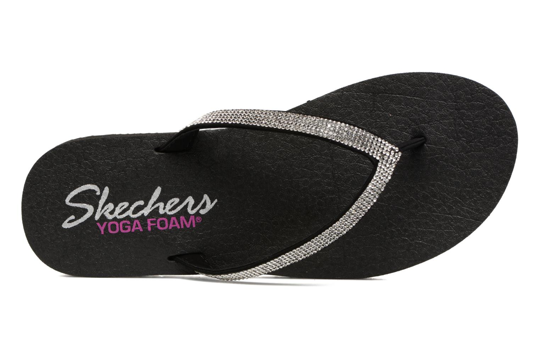 Flip flops Skechers Meditation Chill Vibes Svart bild från vänster sidan