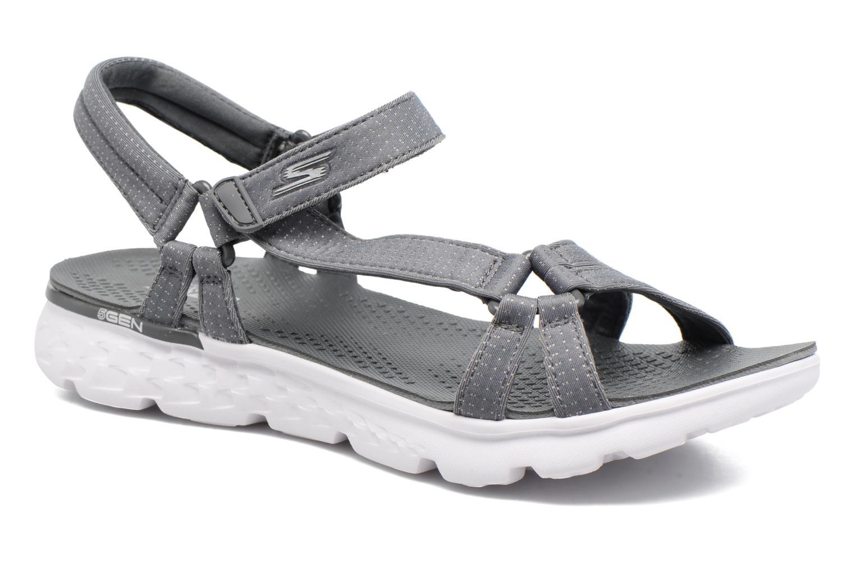 Sandaler Skechers on-the-GO 400 W Grå detaljeret billede af skoene
