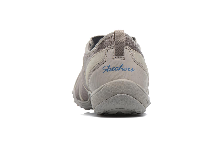 Baskets Skechers Breathe-Easy Fortune Beige vue droite