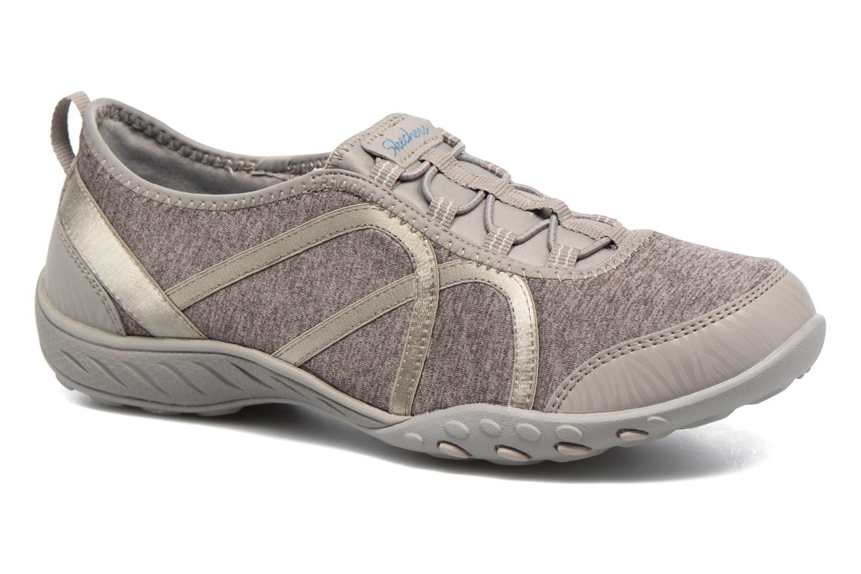 Baskets Skechers Breathe-Easy Fortune Beige vue détail/paire