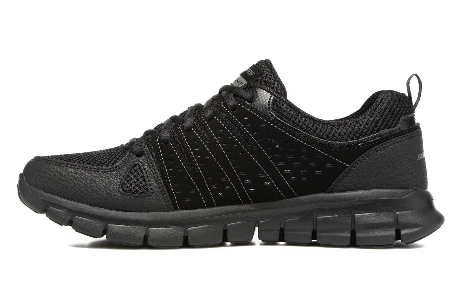 Trainers Skechers Synergy Look Book Black front view