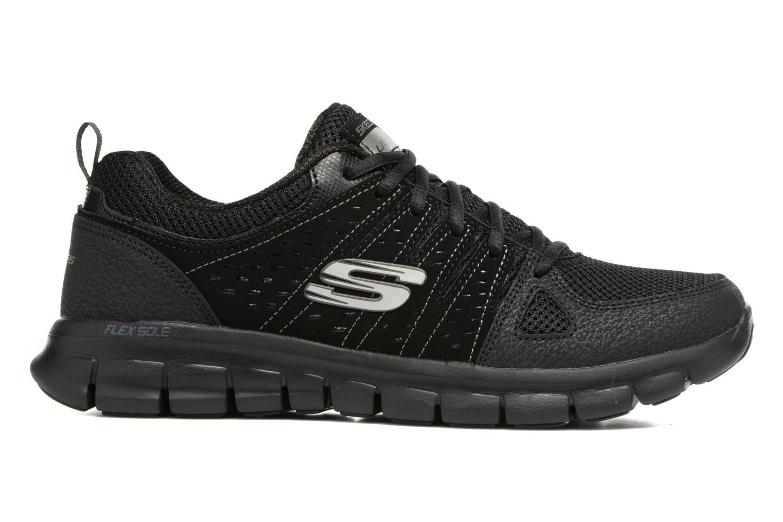 Sneaker Skechers Synergy Look Book schwarz ansicht von hinten