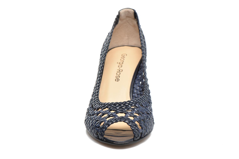 Escarpins Georgia Rose Tressa Bleu vue portées chaussures
