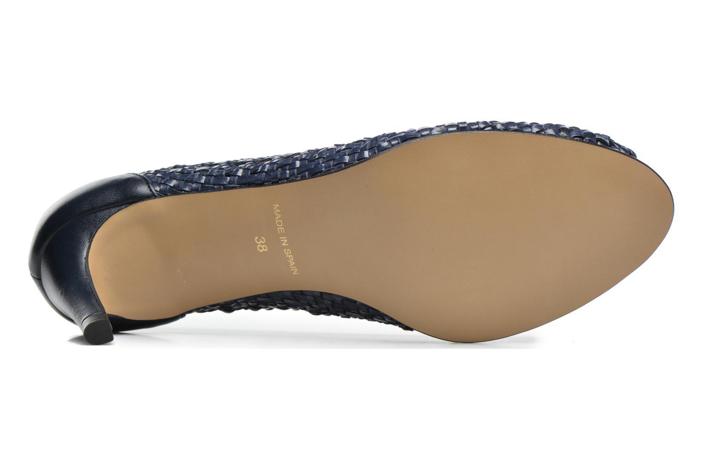 Zapatos de tacón Georgia Rose Tressa Azul vista de arriba