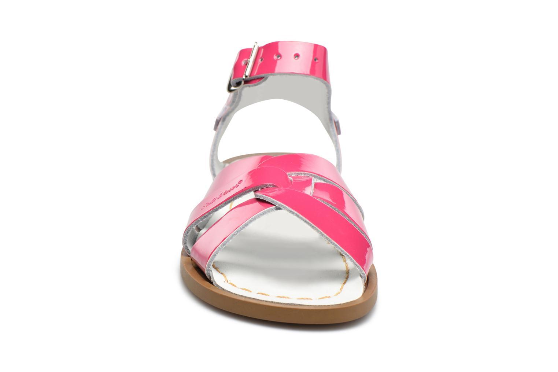 Sandales et nu-pieds Salt-Water Salt-Water Original Rose vue portées chaussures