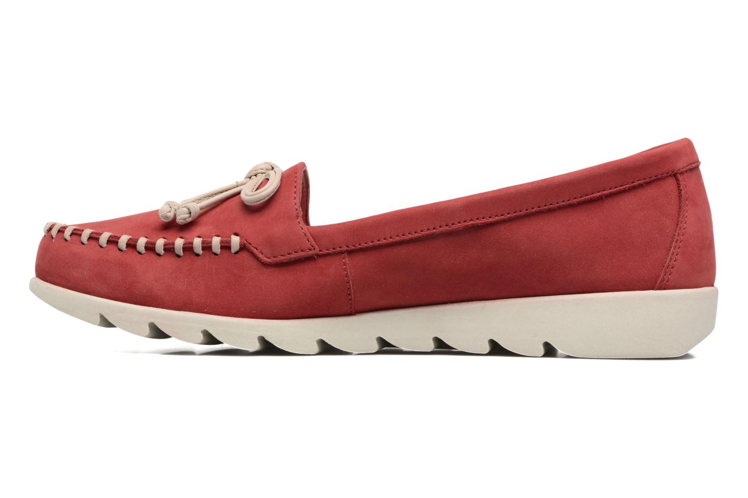 Loafers The Flexx Indy Track Red front view