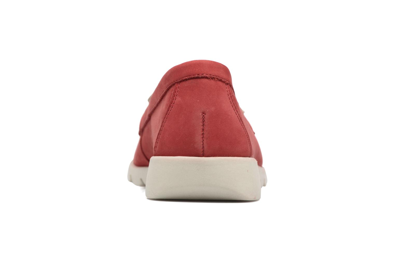 Loafers The Flexx Indy Track Red view from the right