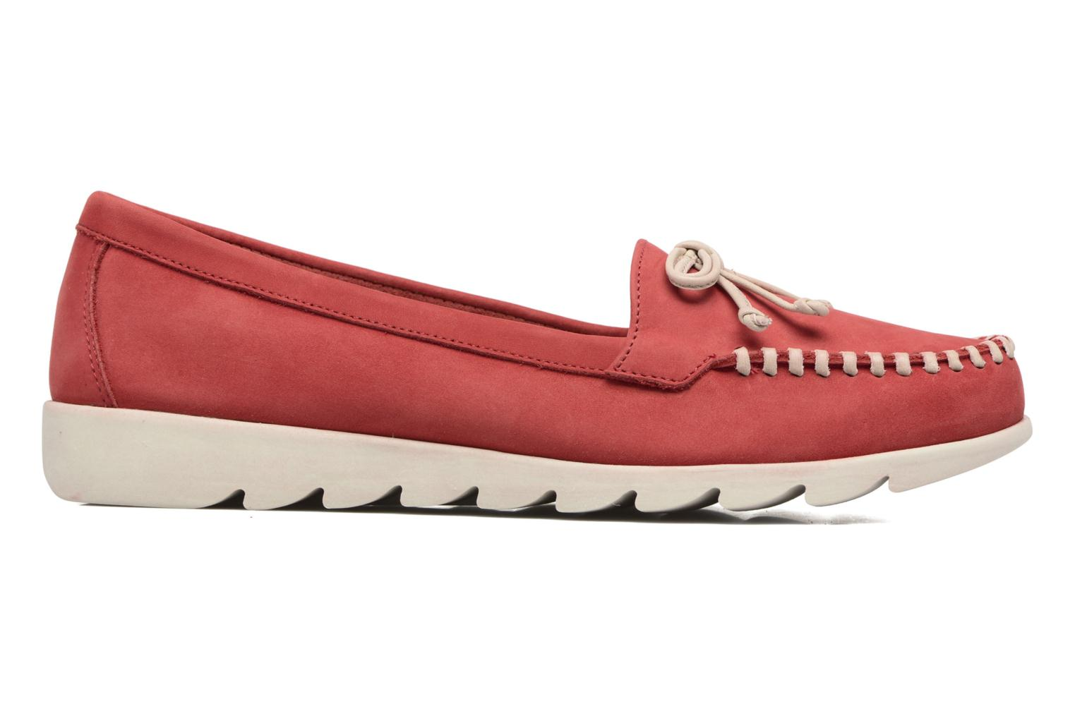 Loafers The Flexx Indy Track Red back view