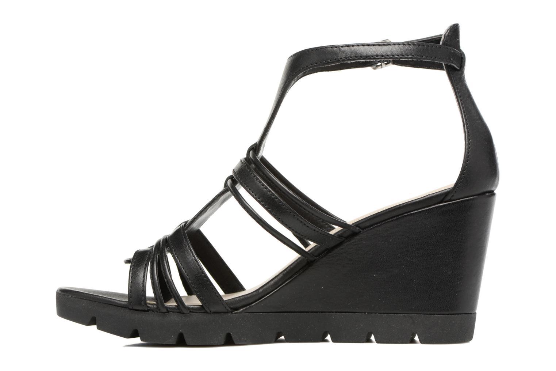 Sandales et nu-pieds The Flexx Lotus Noir vue face