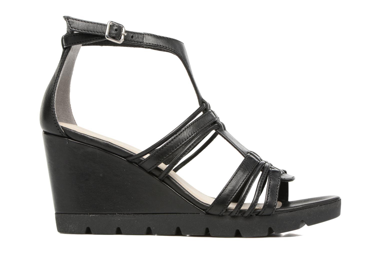 Sandales et nu-pieds The Flexx Lotus Noir vue derrière