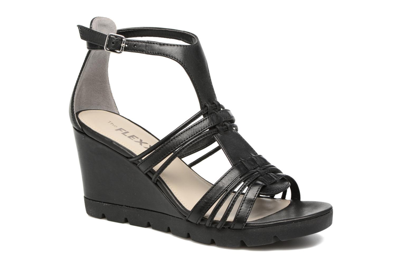 Sandales et nu-pieds The Flexx Lotus Noir vue détail/paire