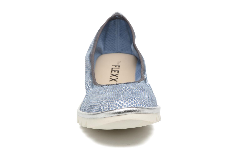 Ballerines The Flexx Mel A Drama Bleu vue portées chaussures