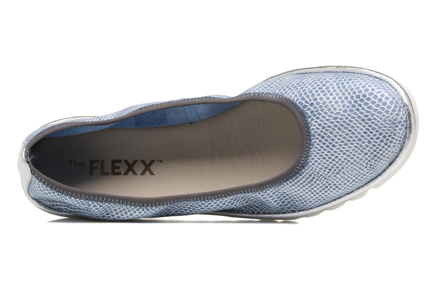 Ballet pumps The Flexx Mel A Drama Blue view from the left