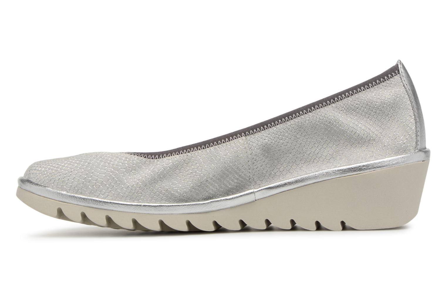Ballet pumps The Flexx Mel A Drama Silver front view