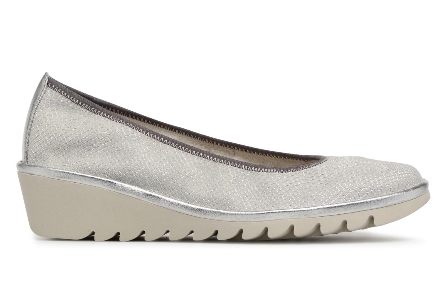 Ballet pumps The Flexx Mel A Drama Silver back view