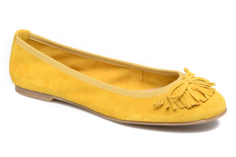 Grandes descuentos últimos zapatos Georgia Rose Lafrange (Amarillo) - Bailarinas Descuento