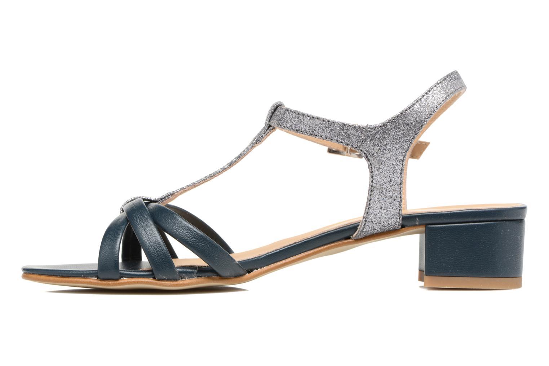 Sandales et nu-pieds Georgia Rose Lumitre Bleu vue face