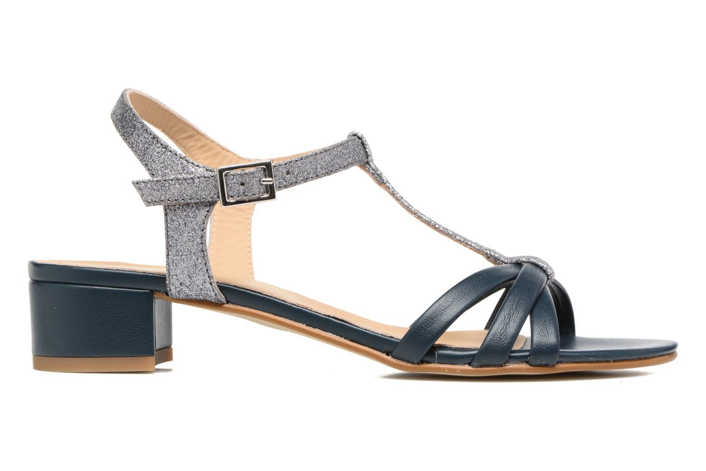 Sandales et nu-pieds Georgia Rose Lumitre Bleu vue derrière