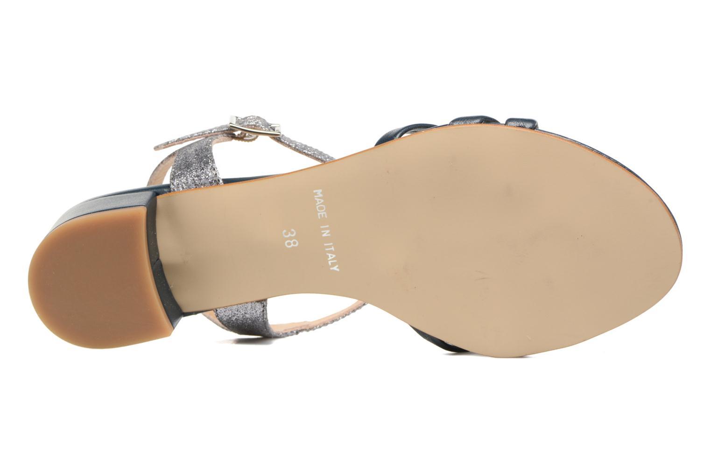 Sandales et nu-pieds Georgia Rose Lumitre Bleu vue haut