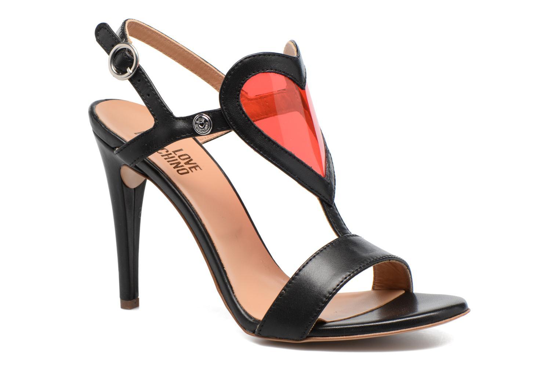 Sandales et nu-pieds Love Moschino Amorino Noir vue détail/paire