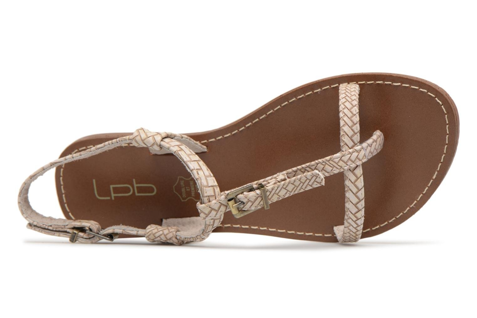 Sandals Les P'tites Bombes Zhoe F Beige view from the left