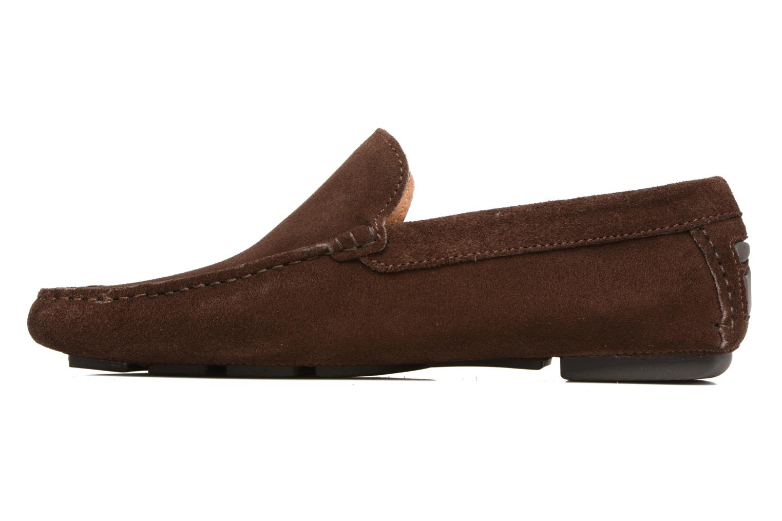 Mocassins Marvin&Co Sutton Marron vue face