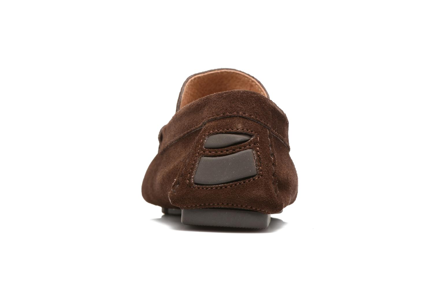 Mocassins Marvin&Co Sutton Marron vue droite