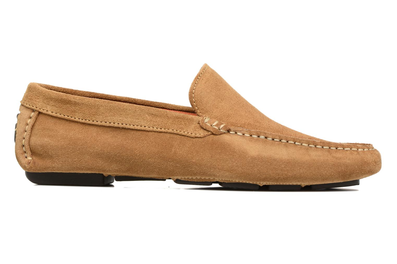 Mocassins Marvin&Co Sutton Bruin achterkant