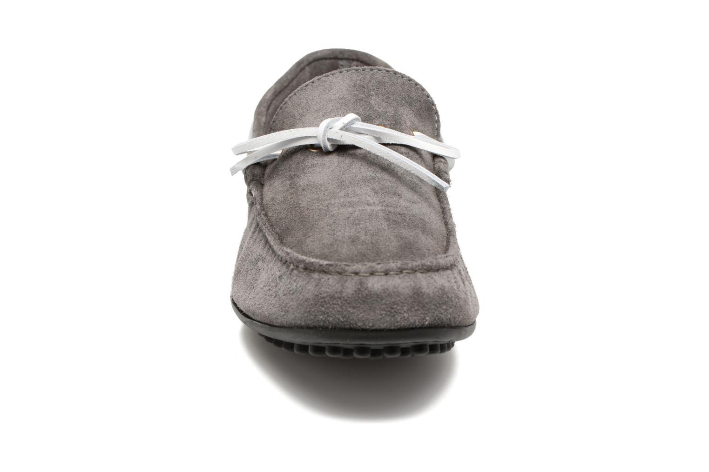 Slipper Marvin&Co Stalban grau schuhe getragen