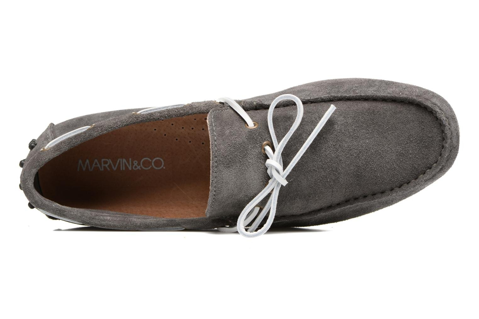 Loafers Marvin&co Stalban Grey view from the left