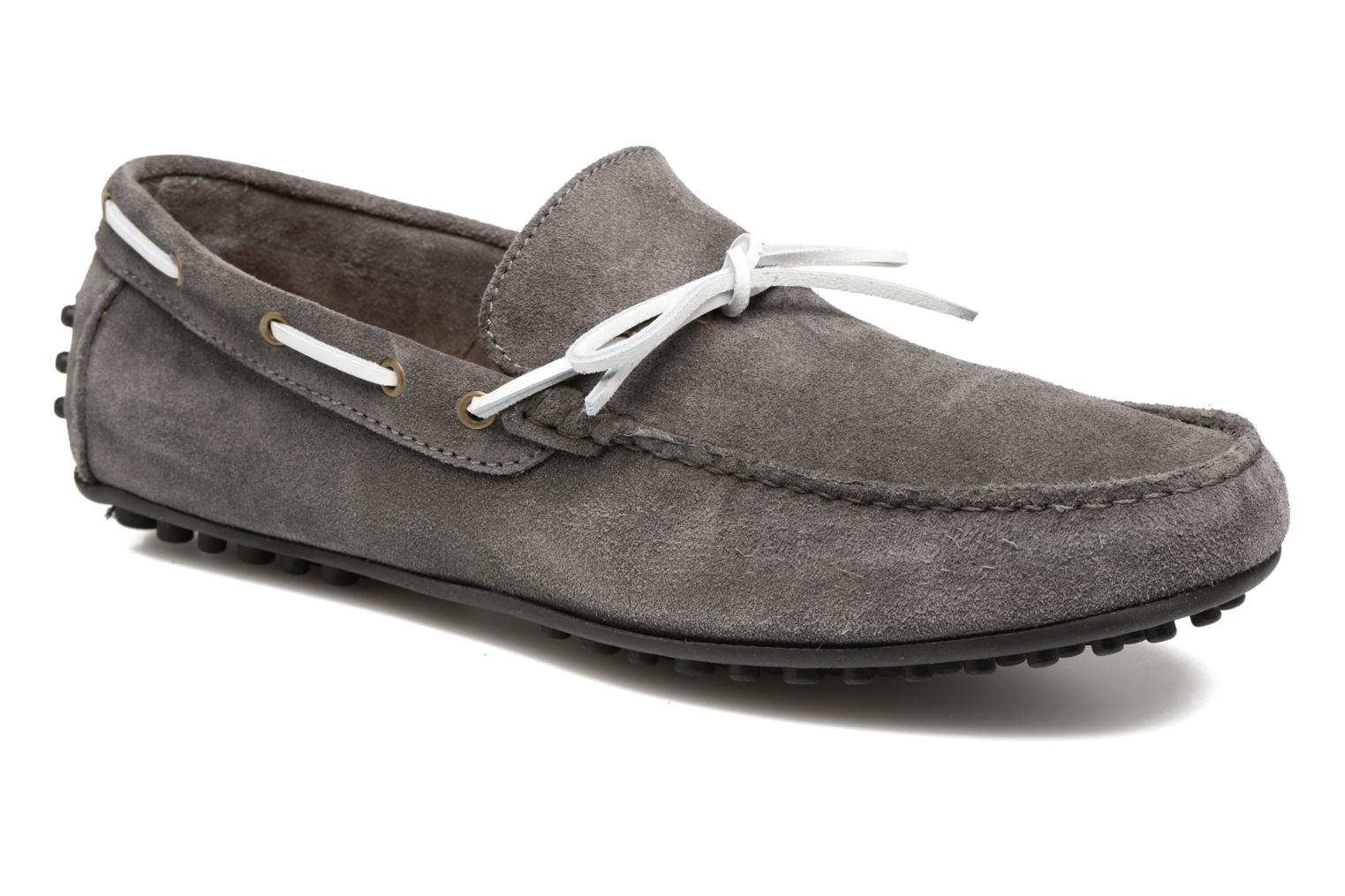 Loafers Marvin&co Stalban Grey detailed view/ Pair view