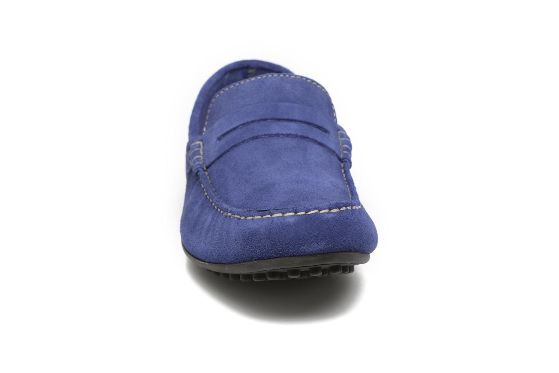 Mocassins Marvin&Co Slough Bleu vue portées chaussures