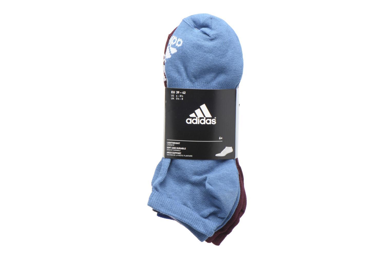 Chaussettes et collants Adidas Performance PER NO-SH T 6PP Noir vue derrière