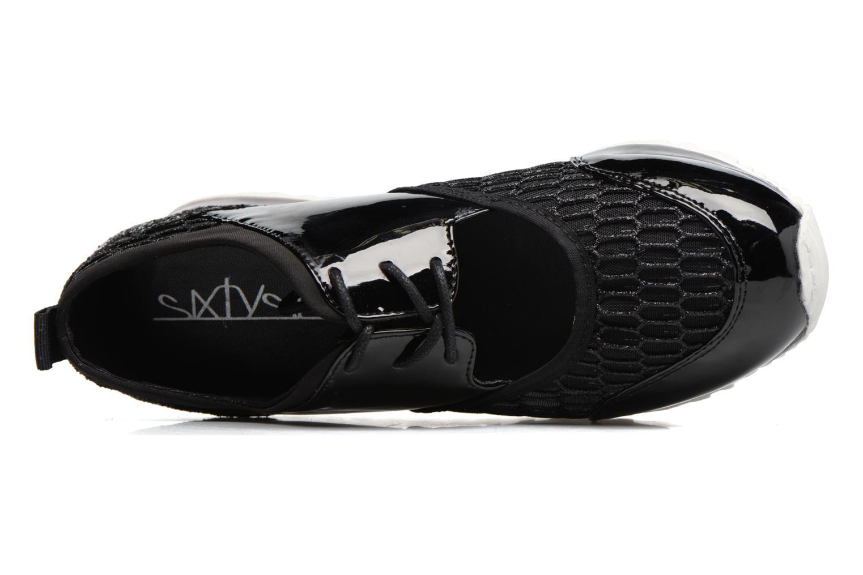 Sneakers Sixty Seven Ené 78558 Zwart links