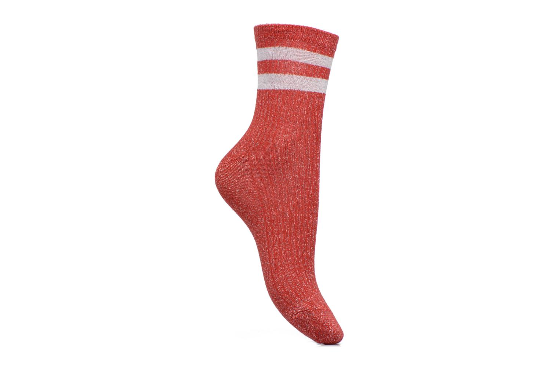 Medias y Calcetines Sarenza Wear Chaussettes lurex Femme Sporty Rojo vista de detalle / par