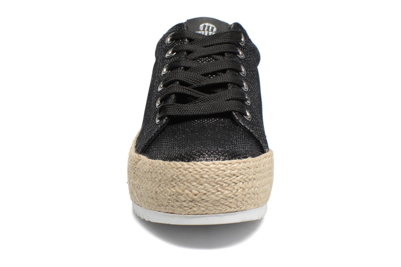 Baskets MTNG Evan 69223 Noir vue portées chaussures