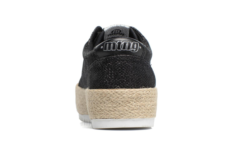 Baskets MTNG Evan 69223 Noir vue droite