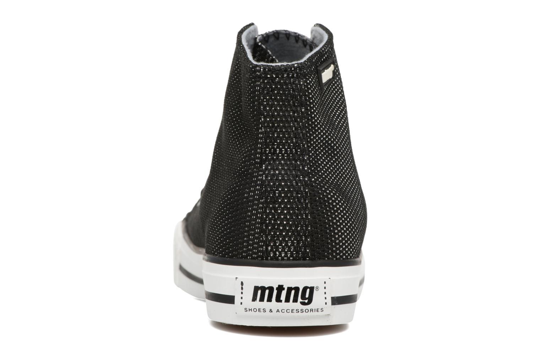 Baskets MTNG Emi 13992 Noir vue droite