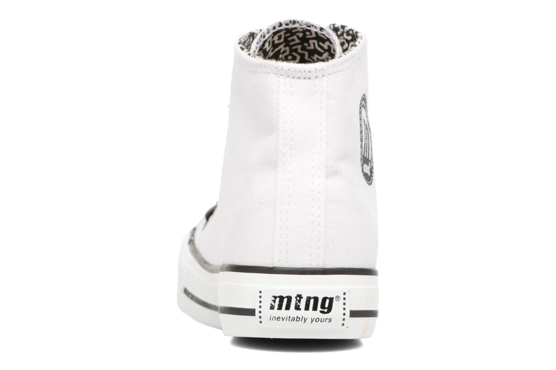 Deportivas MTNG Emi 13992 Blanco vista lateral derecha