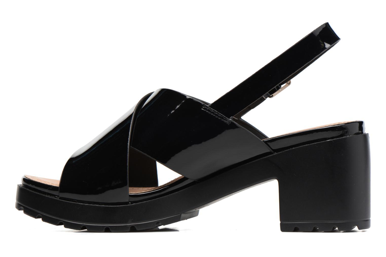 Sandales et nu-pieds MTNG Plexy 55413 Noir vue face