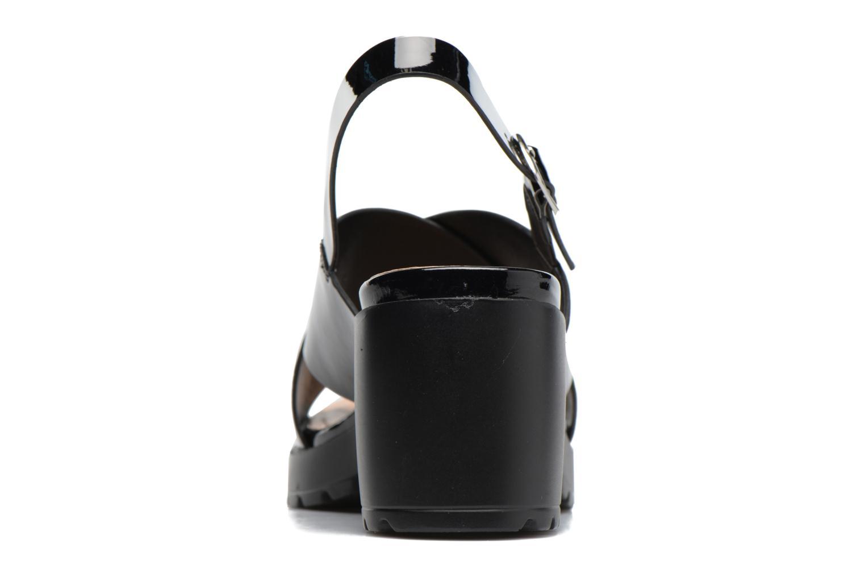 Sandales et nu-pieds MTNG Plexy 55413 Noir vue droite
