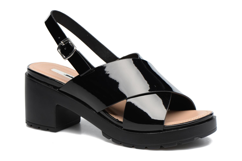 Sandales et nu-pieds MTNG Plexy 55413 Noir vue détail/paire