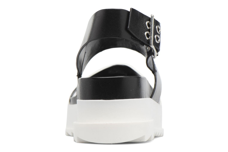Sandali e scarpe aperte Diesel D-Yeletta WS Nero immagine destra