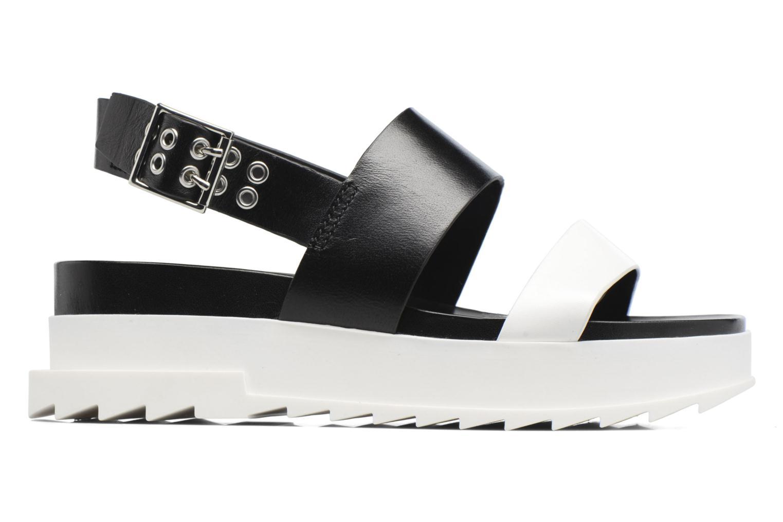 Sandals Diesel D-Yeletta WS Black back view