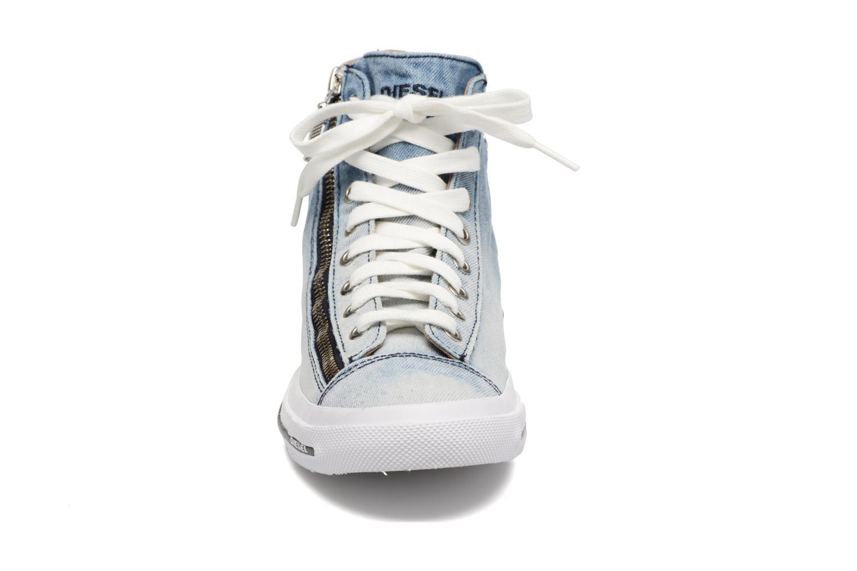 Baskets Diesel Expo-Zip W Bleu vue portées chaussures
