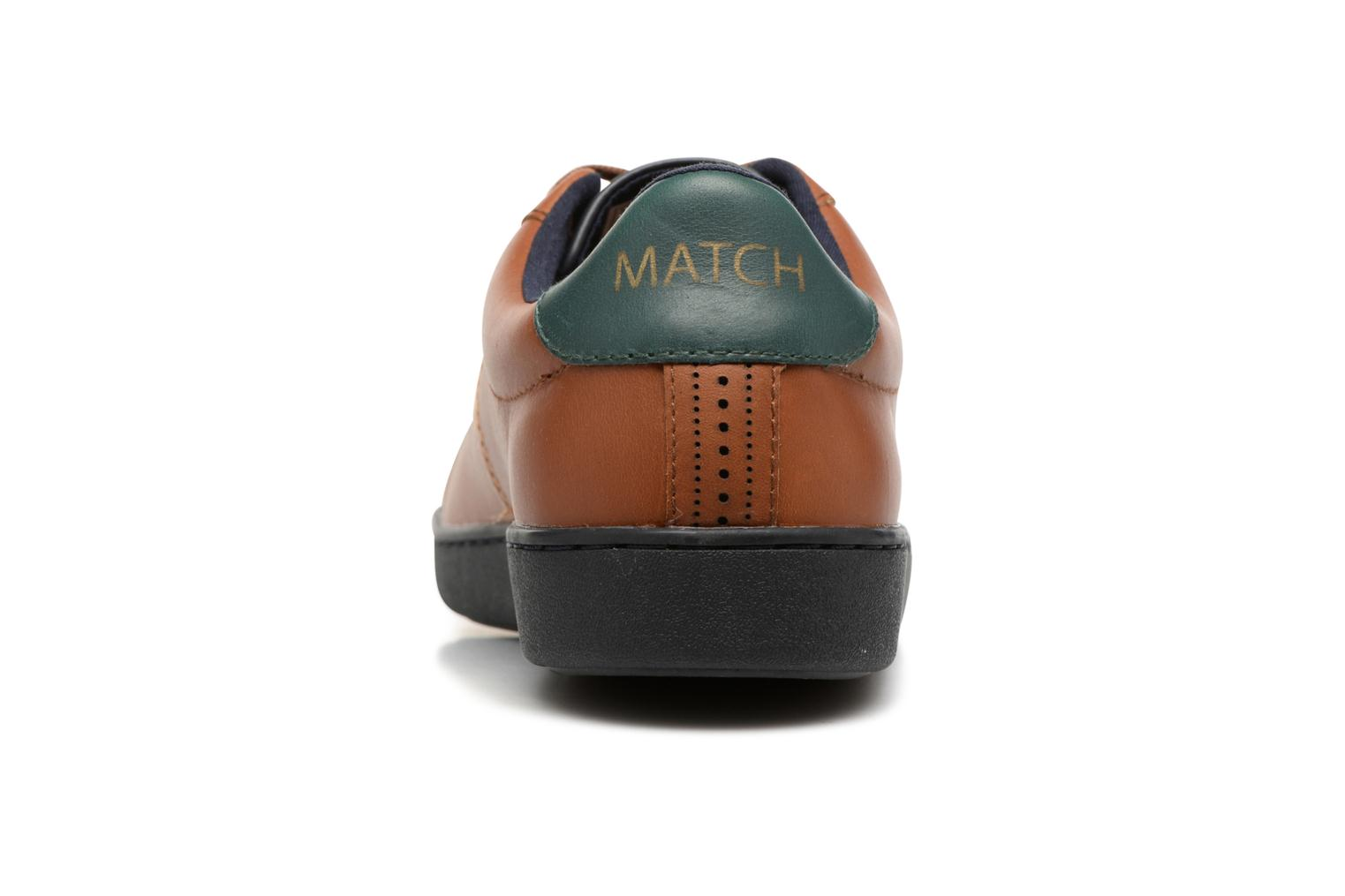Trainers Faguo Hosta Set & Match Brown view from the right