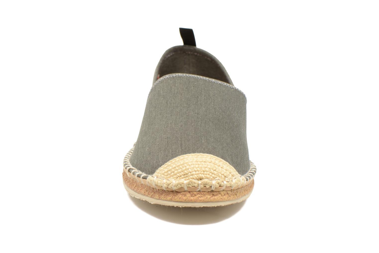 Espadrilles Polo Ralph Lauren Barron Gris vue portées chaussures